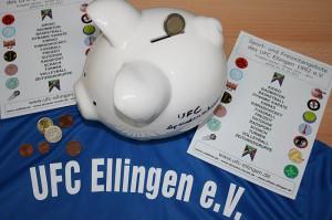 UFC Spenden-Schwein