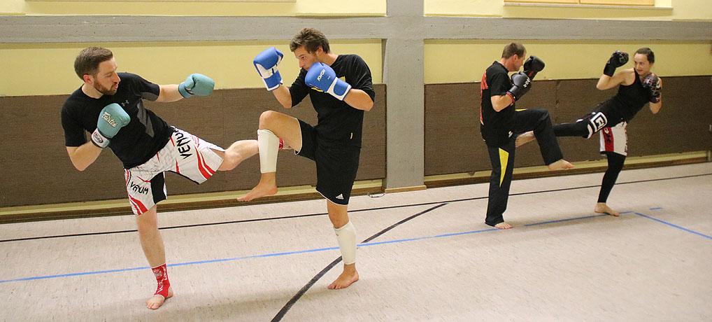 Karate und Kickboxen