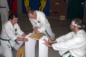 Dynamic Karate Vorführung