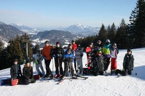 Outdoor Skifahren