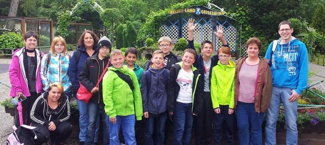 Ausflug in den Freizeitpark Geiselwind am 12. Juni 2016