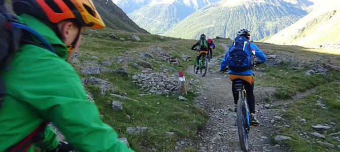 Transalp über 3000 m ü. NN. von Füssen nach Garda