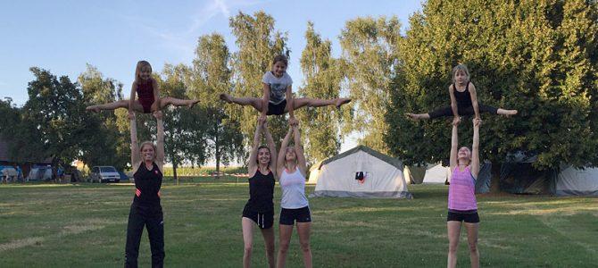 Ellinger Sportakrobatinnen in Ellwangen