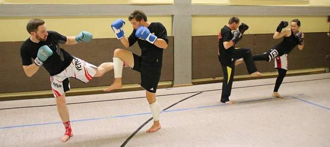 Neu in Ellingen: Kickboxen