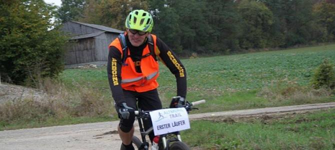 Radsport und Laufen beim 3. Altmühltrail
