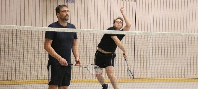 Freies Badmintonturnier anlässlich des Vereinsjubiläums