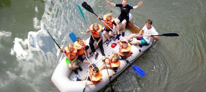 Kinder-Bootsfahrt auf der Altmühl