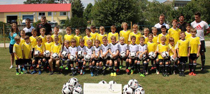 Kids for Champions Fußballschule ein voller Erfolg
