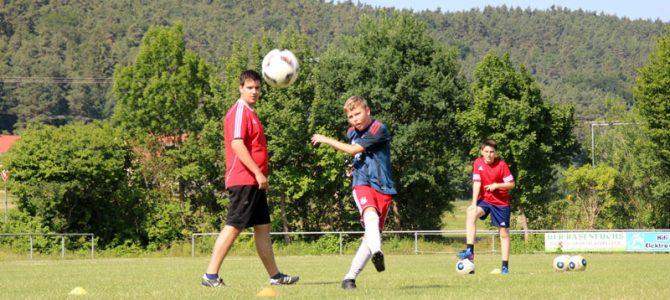 """""""Fußball auf der Burg"""" ein voller Erfolg"""