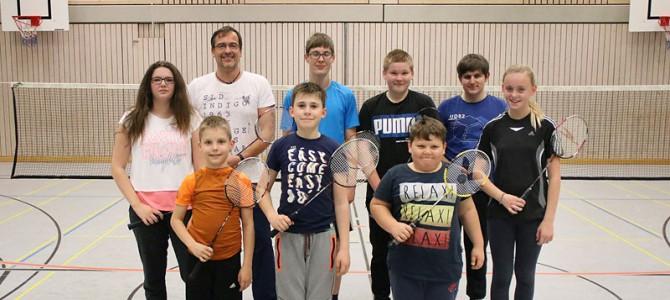 Badminton: Probetraining-November für Kinder und Jugendliche