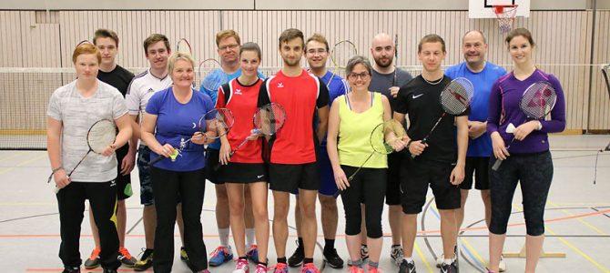 Ellinger Badmintonspieler starten erfolgreich in die neue Hobbyligasaison
