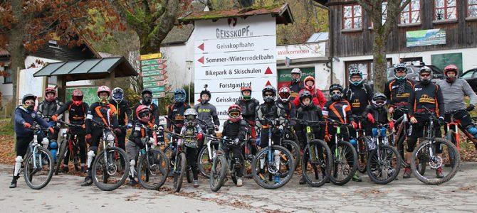 Trailspaß am Geisskopf (Bayer. Wald)