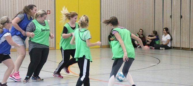 Fußball-Schnuppertraining für Mädchen kam gut an
