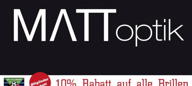 UFC-Mitglieder-Rabatte bei Matt-Optik in Weißenburg: 10% Rabatt für UFC-Mitglieder auf alle Brillen 20% Rabatt auf Kinder-Sportbrillen, u.v.m.