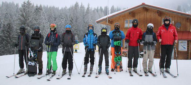Skiausflug ins Winter-Wunderland