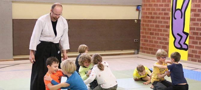 Aikido für Kids: Selbstverteidigung ab 8 Jahren