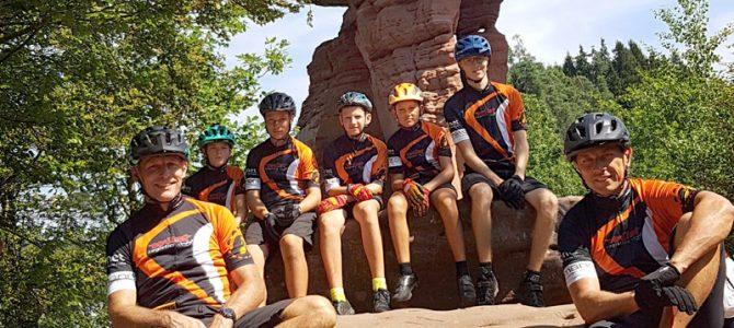U13-Radlkids im Pfälzer Wald unterwegs: 150 km und 3100 Höhenmeter in 4 Tagen