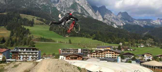 Viel Spaß im Bikepark Saalbach / Leogang