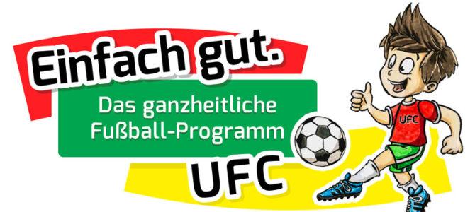 Einfach gut. Das ganzheitliche Fußball-Programm.