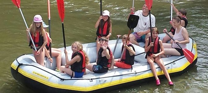 Kinder-Bootsfahrt auf der Altmühl vom 03.08. – 04.08.2019