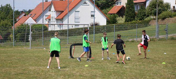 Schnuppertraining Fußball für die 6. und 8. Klasse