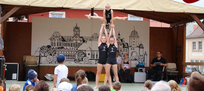 Buntes Vorführungsprogramm beim Ellinger Altstadtfest