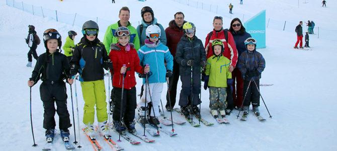 Skispaß mit dem UFC am Sudelfeld Bestes Skiwetter – Familienskifahren mit Skikurs