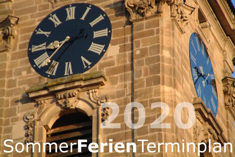 Der SommerFerienTerminplan steht!