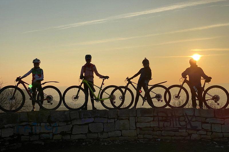 """Radeln bei bestem Bike-Wetter: """"Ein Stück Normalität genießen"""""""
