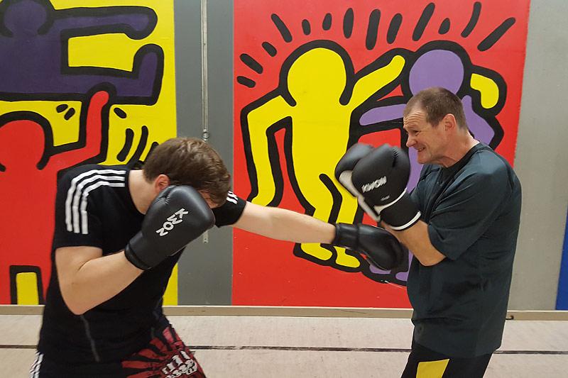Kickboxen ist wieder am Start