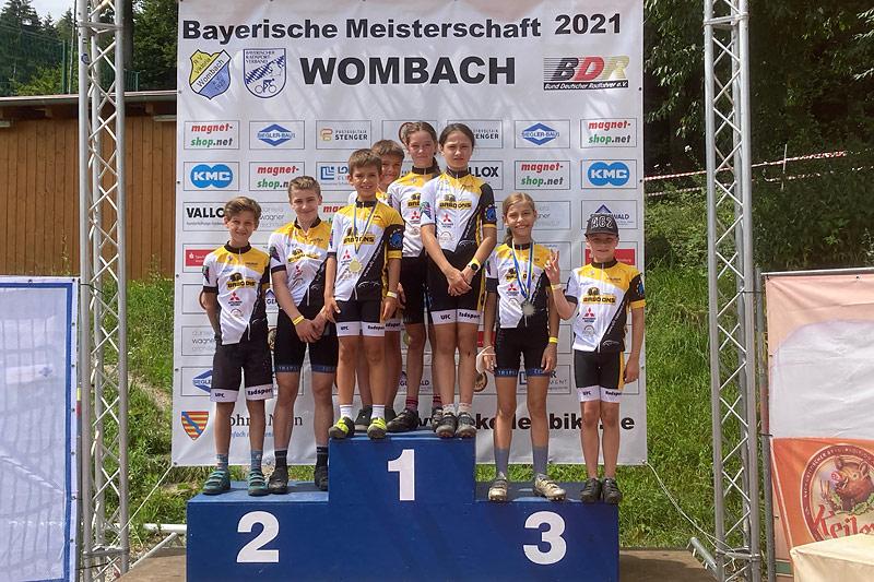Erfolge bei der Bayerischen Meisterschaft in Lohr-Wombach