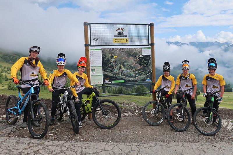 Erfolgreiche Bike-Woche in Serfaus (AT)