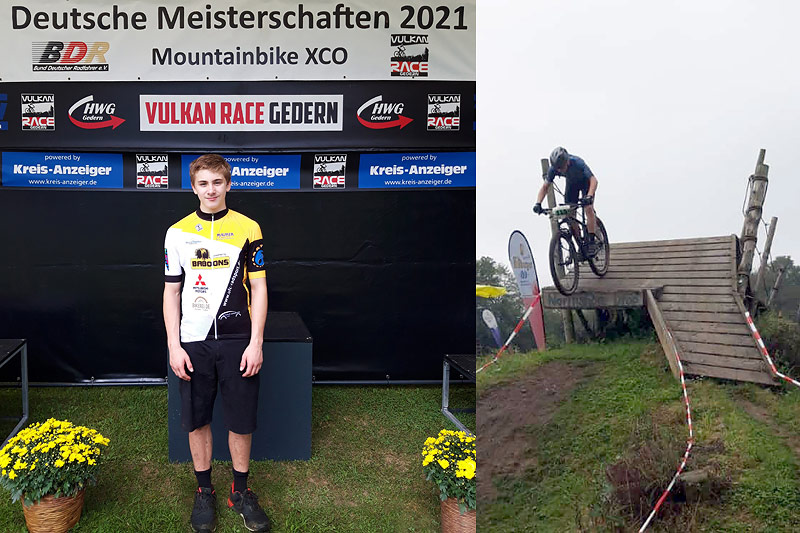 """Kilian Krügl erfolgreich bei der Deutschen CC-Meisterschaft in Gedern (Hessen) – die """"top 10"""" in greifbarer Nähe"""